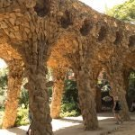 Detail in Park Guell
