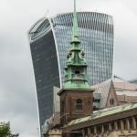 All Hallows Church and Walkie Talkie Building