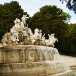 Fountain at Schonbrunn
