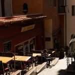 Restaurants in Narrow Alleys