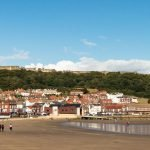 Scarborough With Castle On Hill